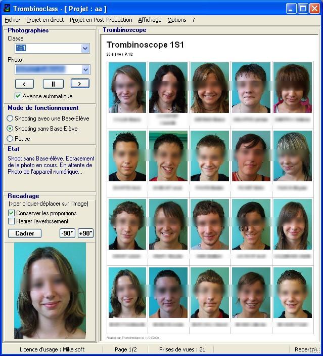 Image du logiciel educ trombinoclass for Logiciel paysagiste 3d professionnel