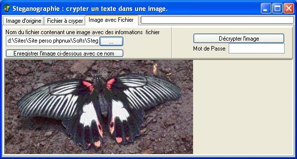 logiciel steganographie